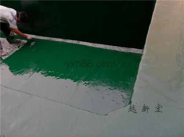 横岗再生水厂药水池防腐