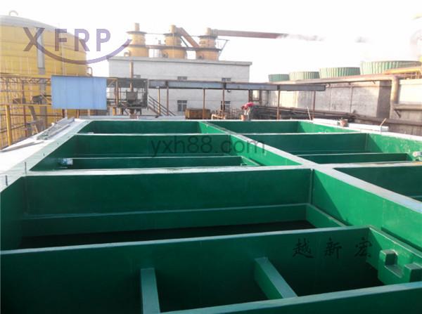 惠州衡杰电子废水池防腐