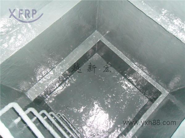 钢制氢氟酸池防腐