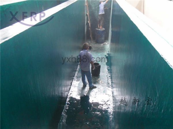 乙烯基重防腐水池