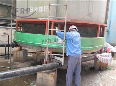 冷却塔水槽防腐维修