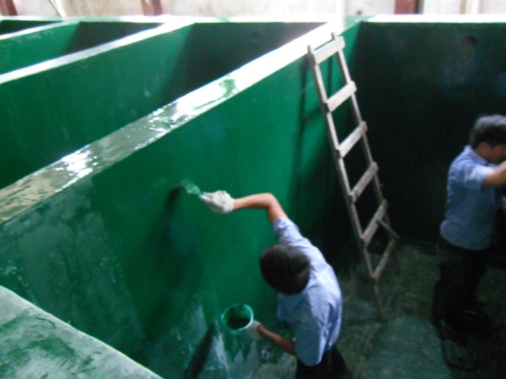 环氧树脂污水池防腐