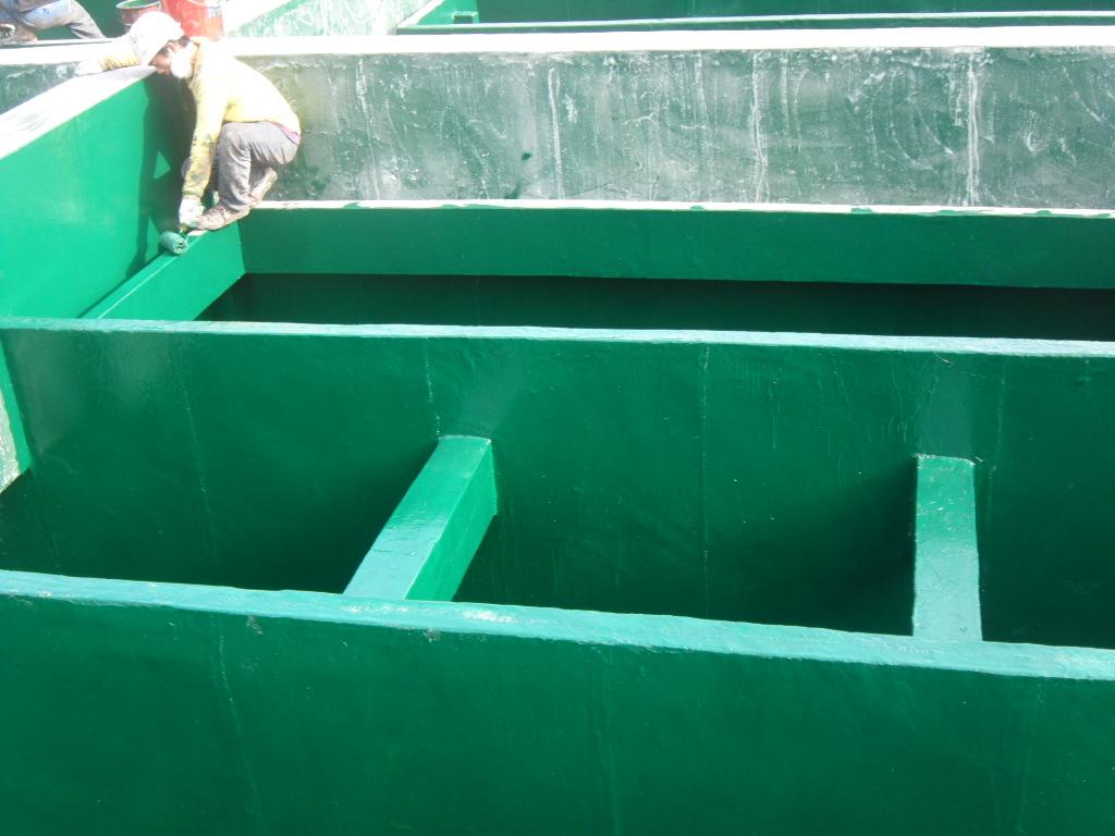 乙烯基污水池防腐