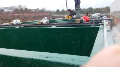 乙烯基废水池防腐