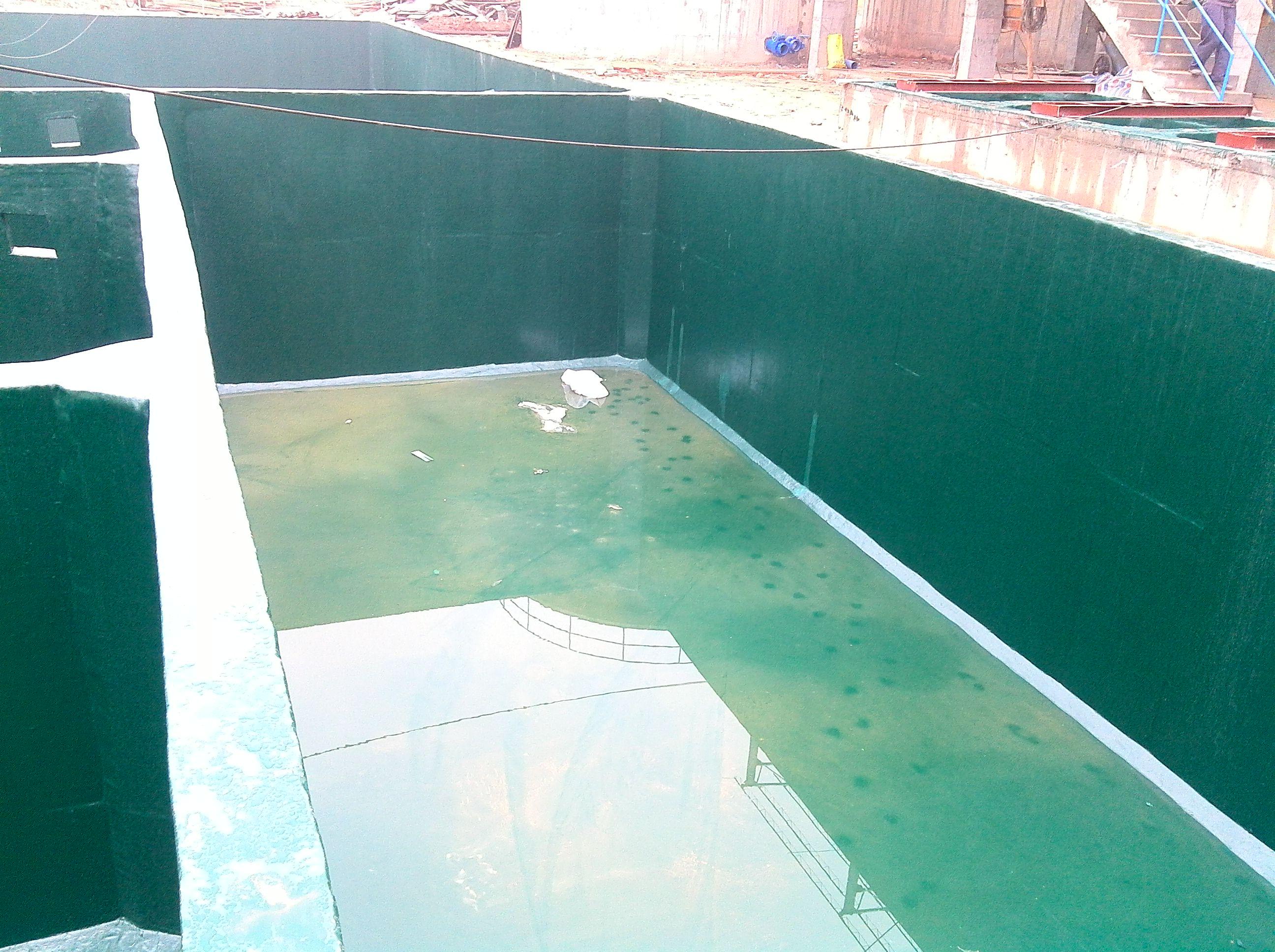 乙烯基水泥碱池防腐